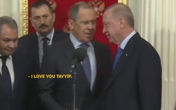 """Лавров """"Би чамд хайртай, Тайип!"""" гэж хэлээгүй"""