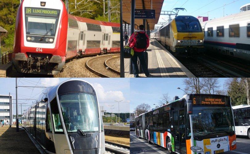Люксембург нийтийн тээврээ үнэ төлбөргүй болгосон анхны улс боллоо