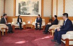 БНХАУ-ын ЭСЯ-ны Улс төрийн зөвлөх Ли Яньжунь талархал илэрхийлэв