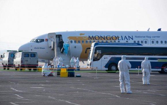 БНСУ-аас Монголд ирэхээр эхний нислэгт багтсан иргэдийн НЭРС