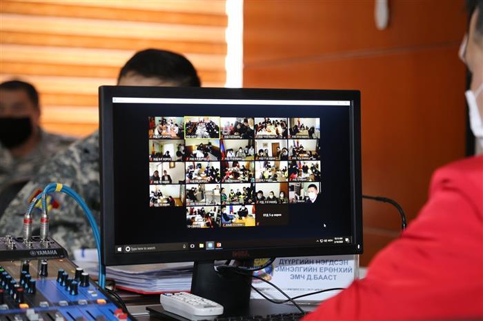 Хан-Уул дүүргийн Онцгой комисс онлайнаар ээлжит шуурхай хурлаа хийлээ