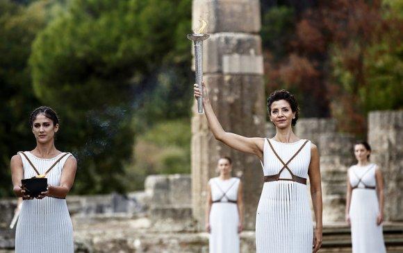 Олимпийн наадмын бамбарыг асаах ёслол үзэгчгүй болно