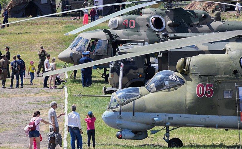 Оросын цэргийн нисдэг тэрэг орон сууц руу андуурч гал нээжээ