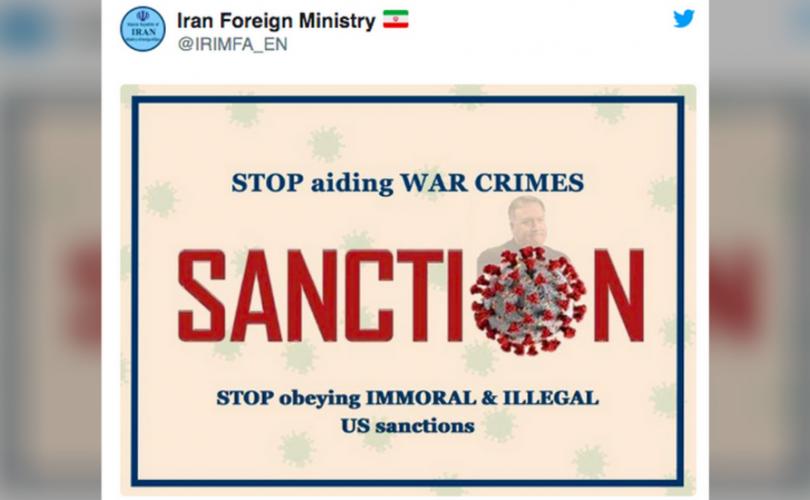 Иран: Коронавирусийн ард Помпео бий