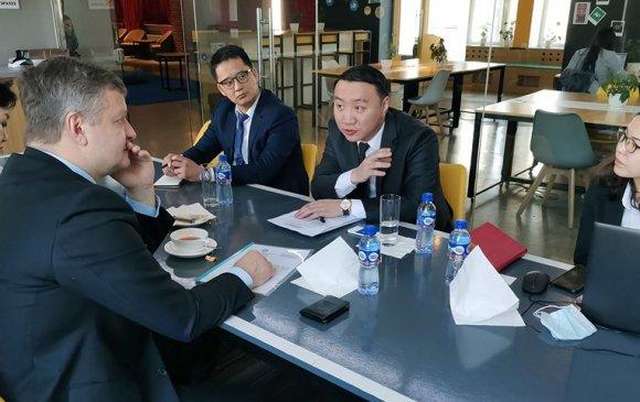 ОХУ-аас Монголд суугаа Худалдааны Төлөөлөгчийн газрын тэргүүнийг хүлээн авч уулзлаа