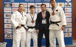 Европын нээлттэй тэмцээнээс жудочид 2 хүрэл, 1 мөнгөн медаль хүртжээ