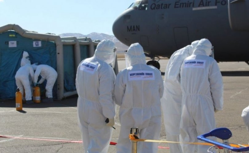 Катарын нисэх багийн бүрэлдэхүүн онгоцноос буусангүй