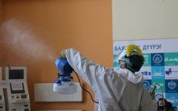 Баянзүрх дүүрэг 32.015 м.кв талбайд ариутгал, халдваргүйжүүлэлт хийлээ
