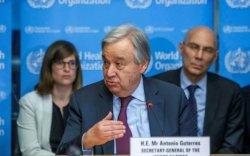 НҮБ-ын ажилчид гэрээсээ ажиллана