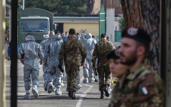 ОХУ цэргийн эмч нараа  Итали руу илгээв