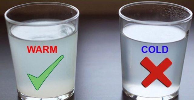 Хүйтэн ус, мөстэй ундаа уухгүй байхыг зөвлөж байна