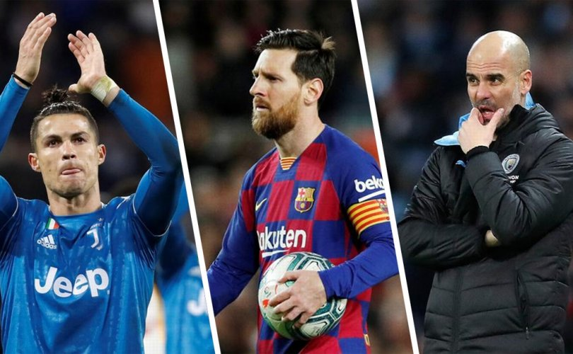 К.Роналдо, Л. Месси, Пеп Гвардиоло нар тус бүр 1 сая евро хандивлалаа