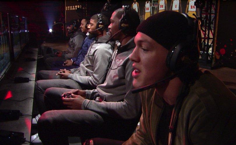NBA тоглогчдын дунд 2k видео тоглоомын тэмцээн зохион байгуулна