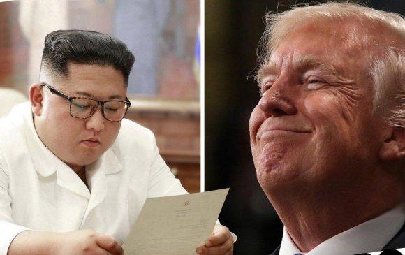 Трамп Ким Жон Унд захидал илгээжээ