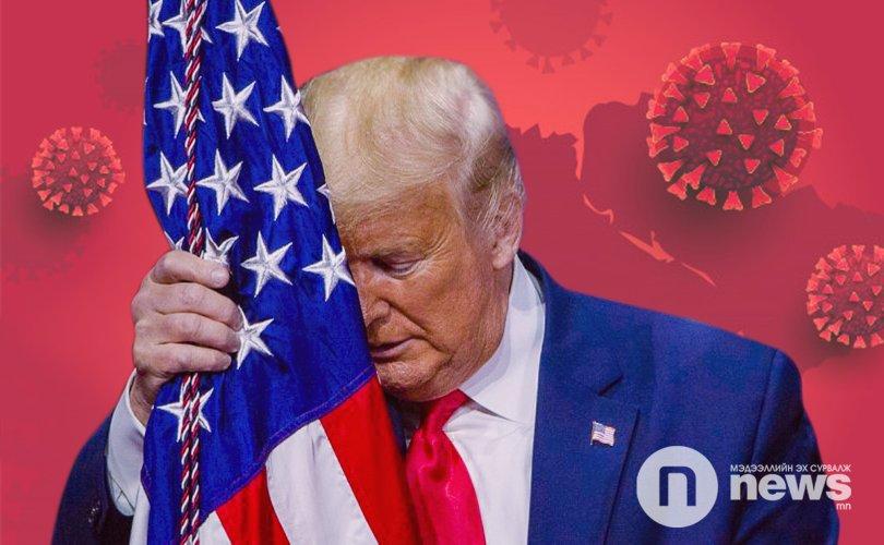 АНУ коронавирусийн халдвараар Хятадыг давж, нэгдүгээрт бичигдлээ