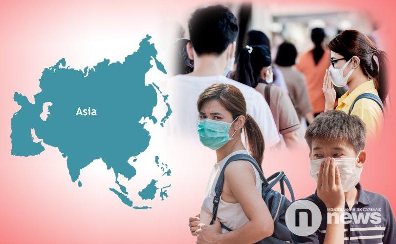 Азийн орнуудад өвчний тархалтын хоёр дахь үе ирж байна