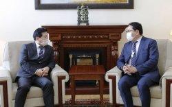 БНСУ-аас Монгол Улсад суугаа Элчин сайдыг хүлээн авч уулзав