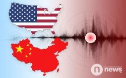 АНУ, Хятадад газар хөдөлжээ