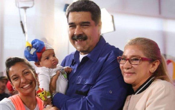 Мадуро эмэгтэйчүүдийг зургаан хүүхэд төрүүлэхийг уриаллаа