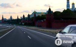 Москва хотын замын хөдөлгөөний ачаалал 70% буурчээ