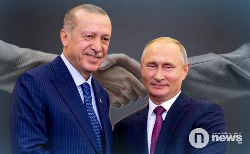 Путин, Эрдоган нар Идлибт гал зогсоох тохиролцоонд хүрлээ