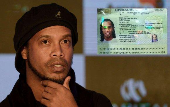 Роналдиньо хуурамч паспорт ашигласан хэргээр баривчлагдлаа