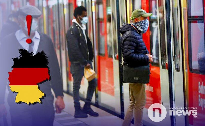 Германд маск зүүхгүй бол 5000 еврогоор торгуулна