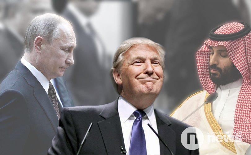 Трамп: Путин, Саудын Арабын хаан хоёрт маш их баярлалаа