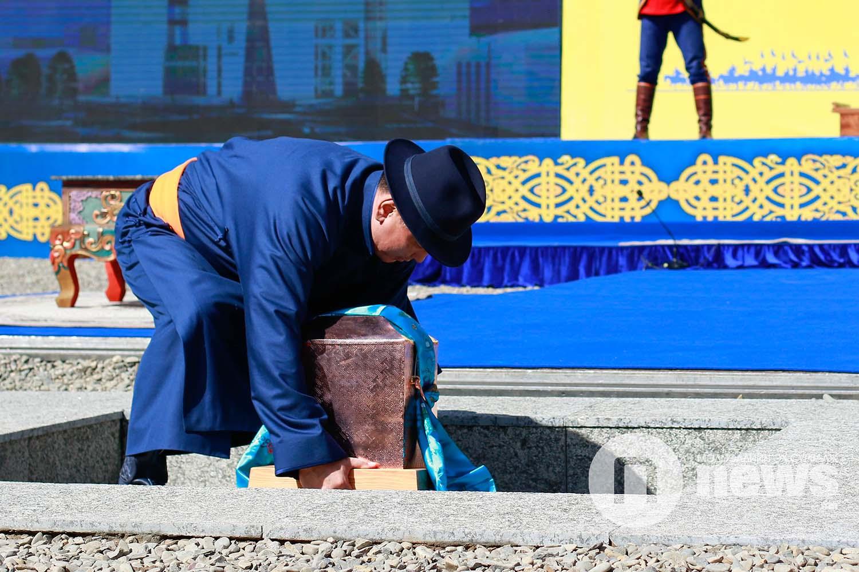 Чингис хаан музей шав тавих ёслол (2)