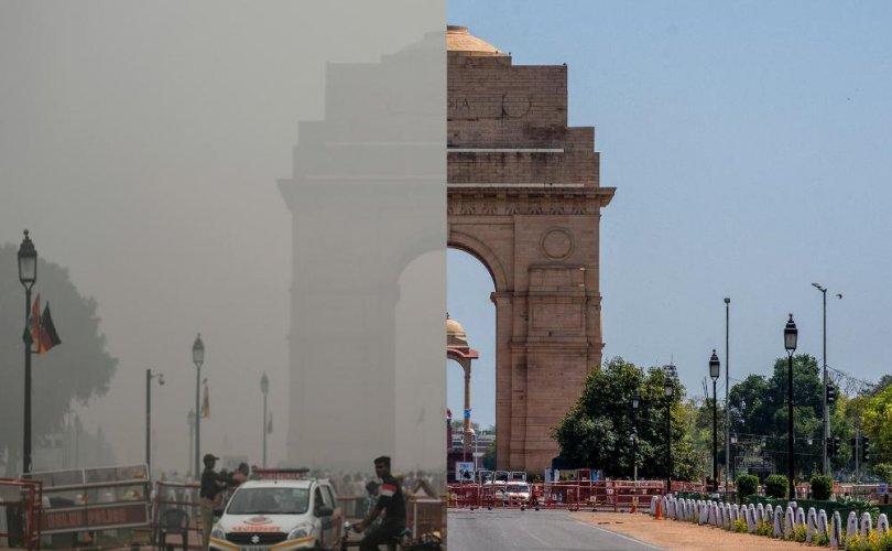 Хөл хорио Энэтхэгийн агаарын бохирдлыг огцом бууруулж байна