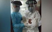 Коронавирусийн халдвартай эмэгтэй эсэн мэнд амаржжээ