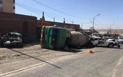 Баянхошуунд зам тээврийн ноцтой осол гарлаа