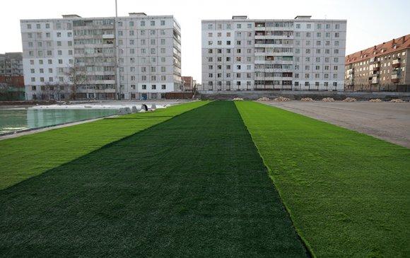 Хөлбөмбөгийн стандартын талбай тавдугаар сард ашиглалтад орно