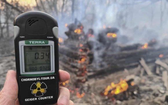 Чернобылийн ойролцоо түймэр гарч, цацрагийн хэмжээ огцом өсчээ