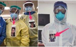 Эмч нар өвчтөнүүддээ зориулж жаргалтай зургаа энгэртээ зүүжээ