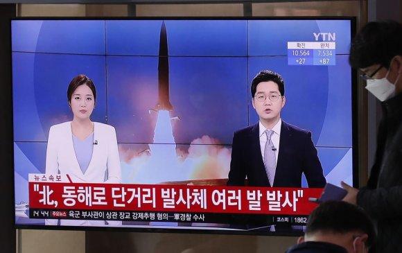 Умардууд Өмнөд Солонгосын сонгуулийг угтаж пуужин харвалаа