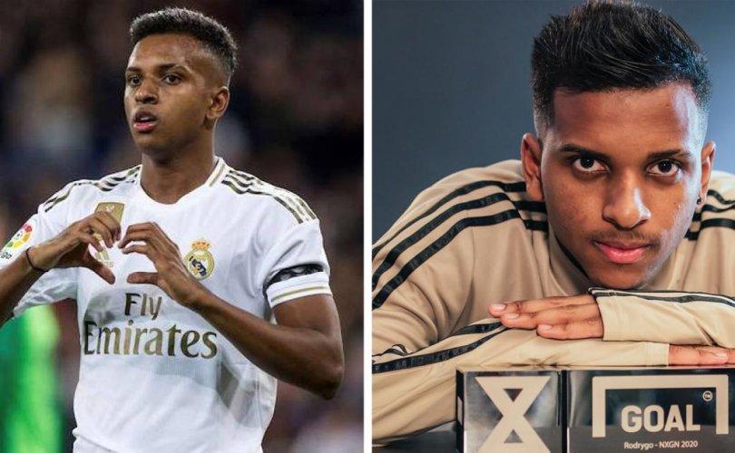 Родриго-Дэлхийн хөлбөмбөгийн шилдэг залуу авьяастан