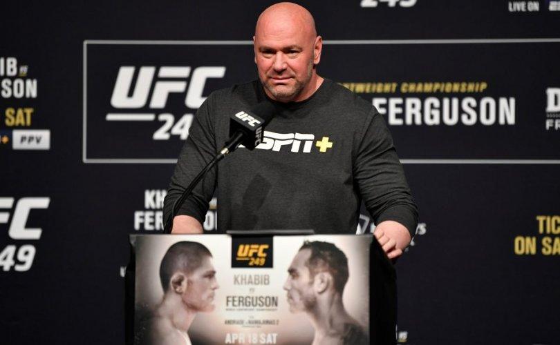 UFC 249 өдөрлөг цуцлагдлаа
