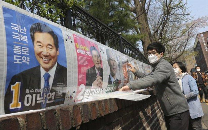 Солонгос дахь цар тахлын үеийн сонгууль