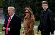 """Трампын отгон хүү """"өндөр"""" Баррон Трамп"""