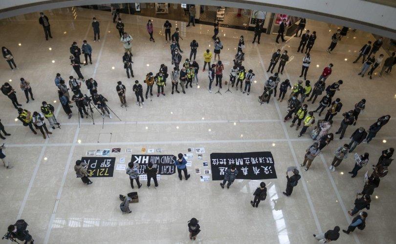 Хонгконгод эсэргүүцлийн жагсаал эргэн сэргэв