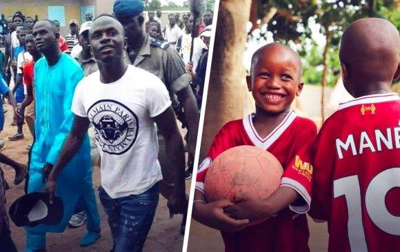 Садио Мане Сенегал улсад эмнэлэг бариулж байна