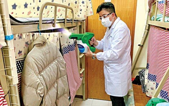 Гадаргууг коронавирусээс 90 хоног хамгаалдаг цацлага бүтээжээ