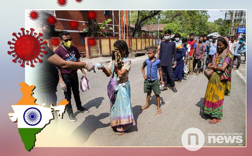 Энэтхэг: Хөл хорио сулруулсан өдөр хамгийн олон халдварын тохиолдол бүртгэгдэв