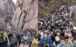 Хятад: Хөл хорио тавигдсаны дараа жуулчдын урсгал огцом нэмэгджээ