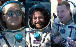Олон сарын дараа дэлхийд газардсан сансрын нисгэгч нар цочирджээ