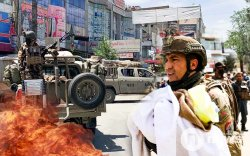 Афганистан Талибаны эсрэг гал нээхээр боллоо