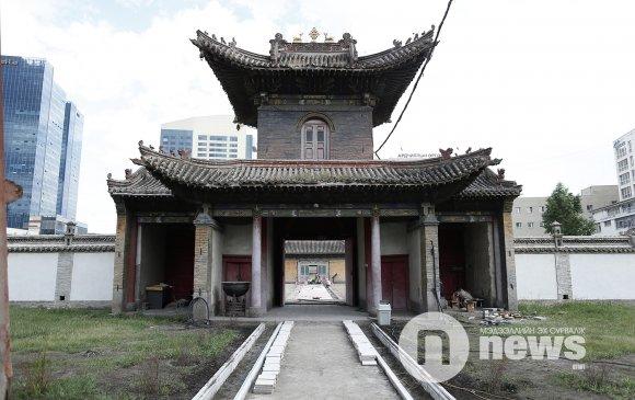 Чойжин ламын сүм музейн гудамжийг автомашингүй болгов