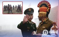 Энэтхэг, Хятадын цэргүүд хил дээр зодолджээ