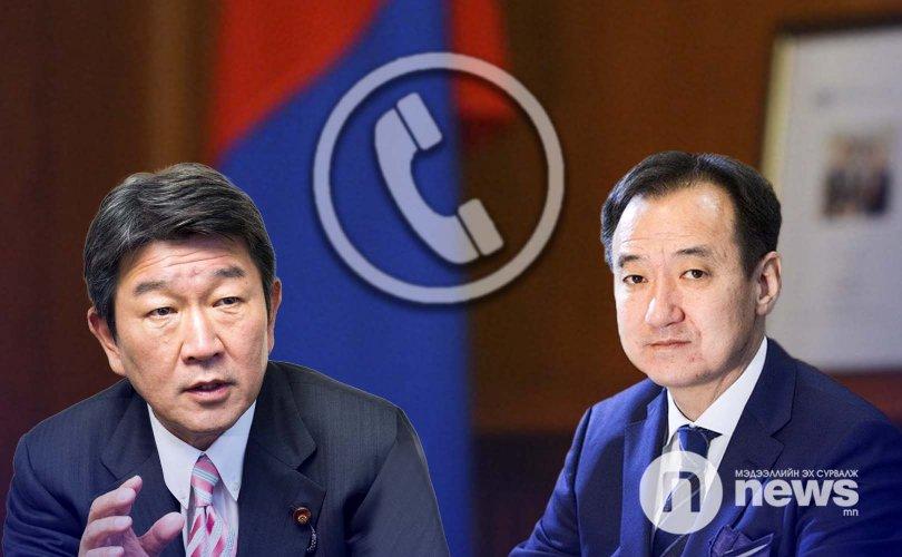 Монгол, Японы Гадаад харилцааны сайд нар утсаар ярив